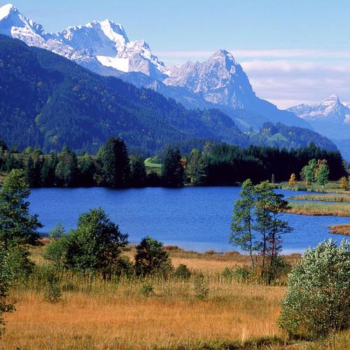 Germany - Lake in the mountains