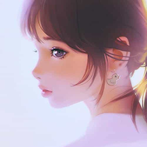 girl face cute ilya kuvshinov illustration art