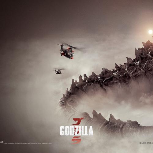 Godzilla 2014 movie wallpaper