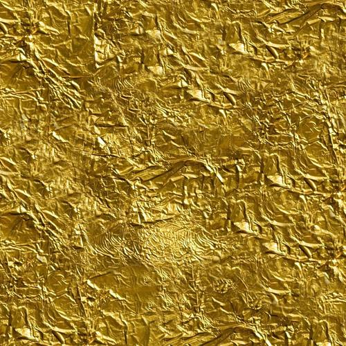 Gold foil texture wallpaper