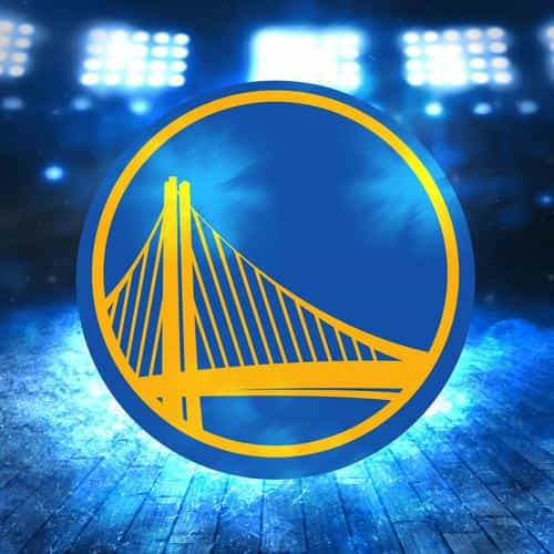 golden state warriors logo nba sports art illustration