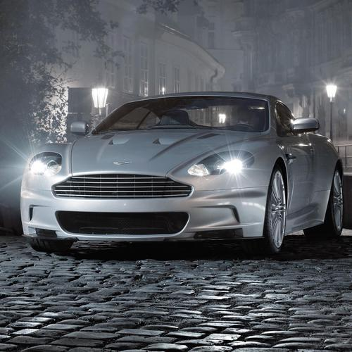 Gray Aston Martin wallpaper