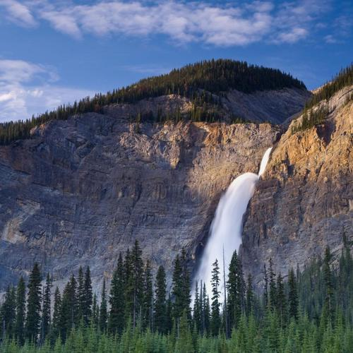 Great Takkakaw falls in Yoho National Park Canada