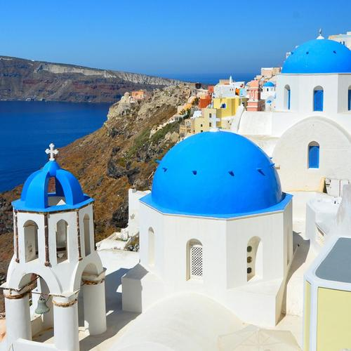 Greece - Santorini Oia wallpaper