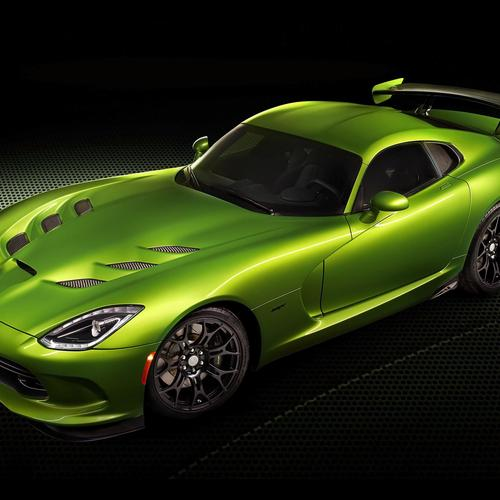 Green 2014 Dodge SRT Viper