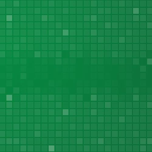 Green abstract squares texture