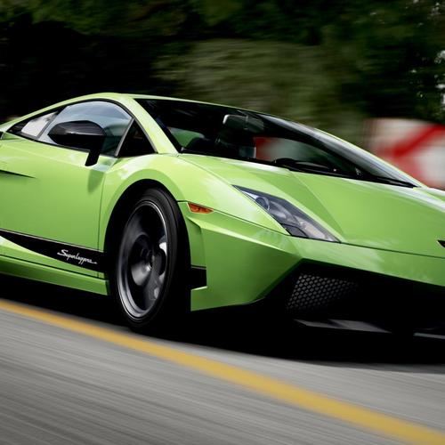 Green Lamborghini Gallardo In Forza Motorsport wallpaper
