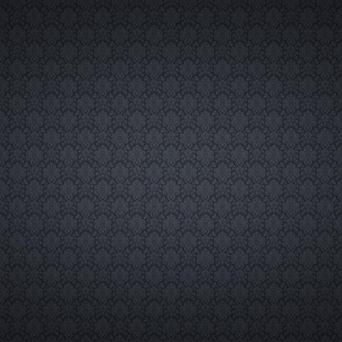 Grey blue floral texture wallpaper
