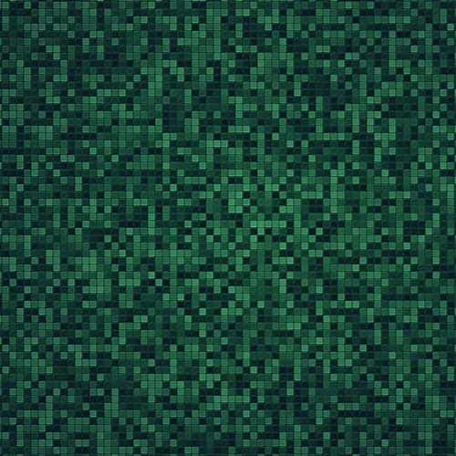 grid green mosaic pattern background