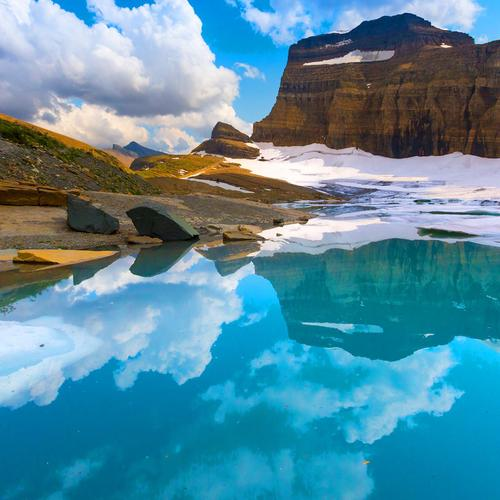 Grinnell Glacier National Park tapeta