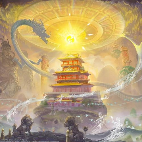 Download Guardian Of The Temple painting High quality wallpaper