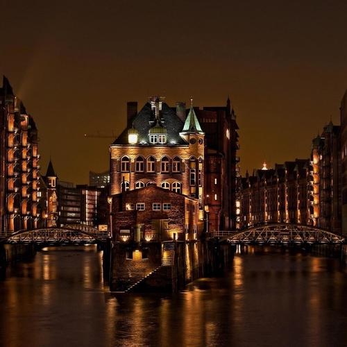 Hamburg Germany Speicherstadt City wallpaper