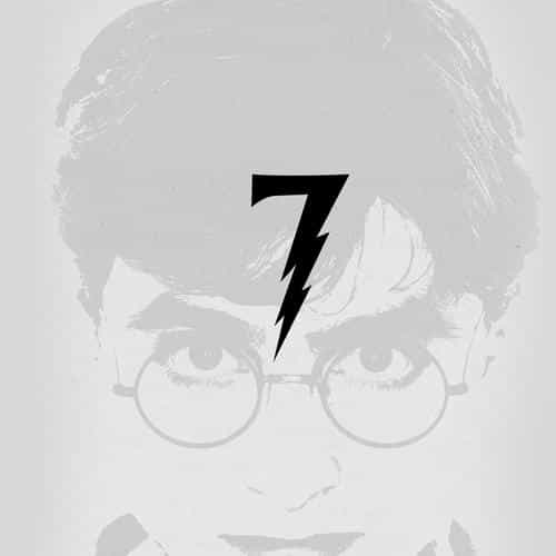 harry potter art minimal film gray