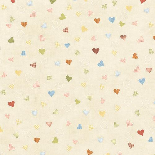 Hearts vintage texture wallpaper