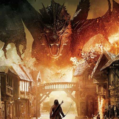 hobbit the battle five armies art poster