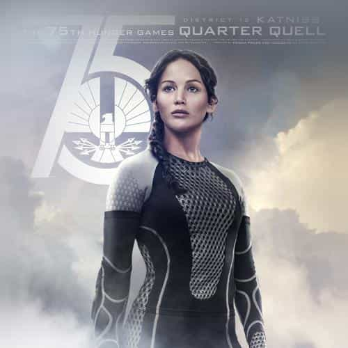 hunger game jennifer lawrence sexy poster