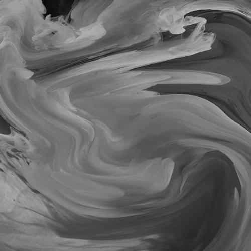 hurricane swirl abstract art paint dark bw pattern