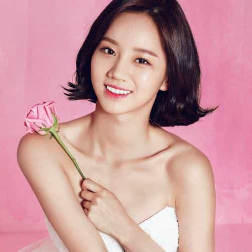 hyeri cute pink kpop girl