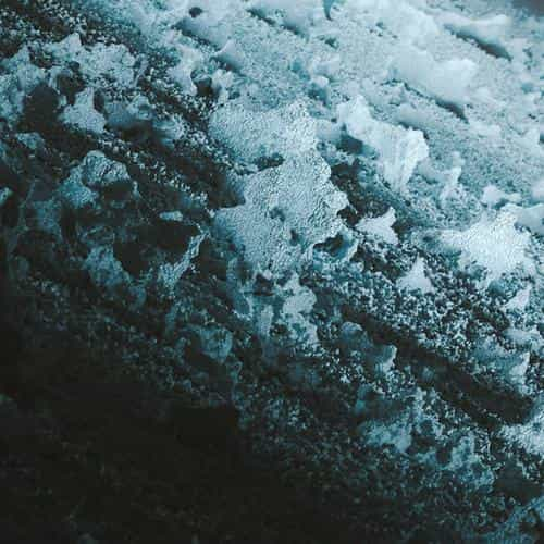 ice abstract pattern background
