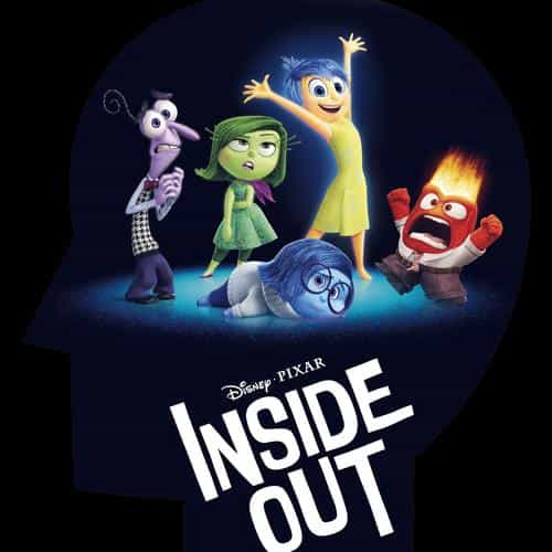 inside out disney pixar animation art illust