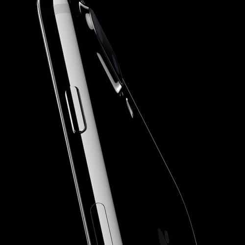 iphone7 jetblack dark shine art illustration