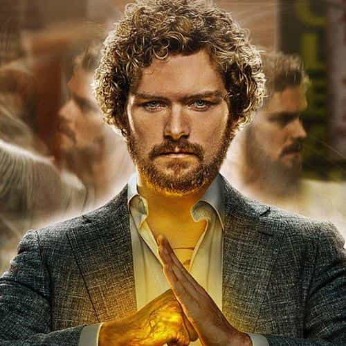 ironfist marvel poster film illustration art