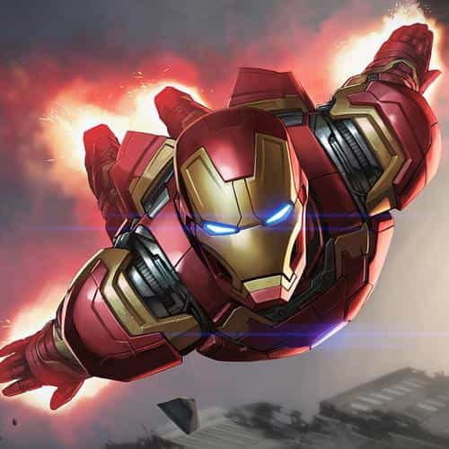 ironman hero marvel illustration art