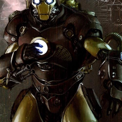 Ironman steampunk