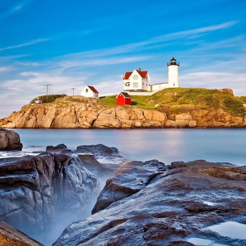 Isl Lighthouse Seascape wallpaper