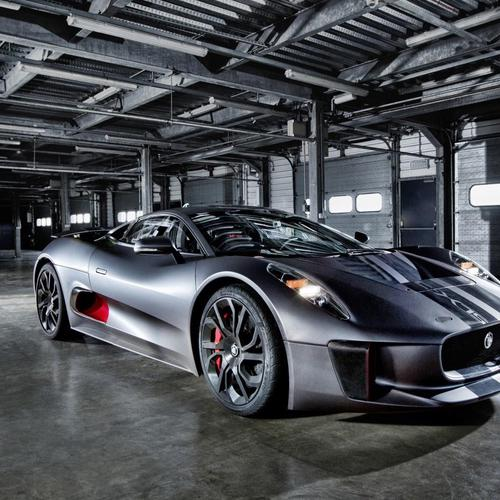 Jaguar C-X75 Hybrid Supercar Prototype wallpaper