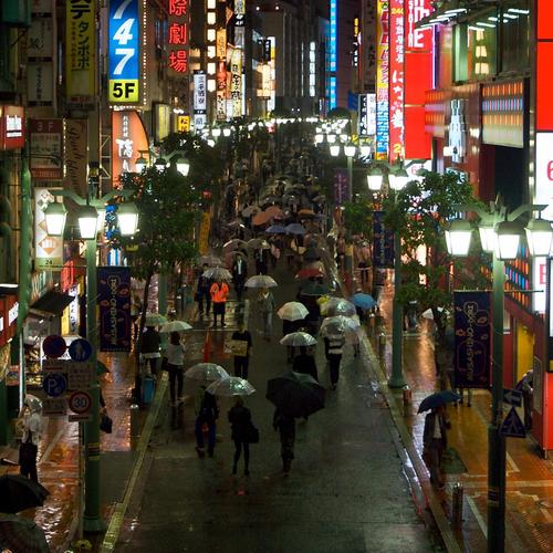Japon Narrow Street fonds d