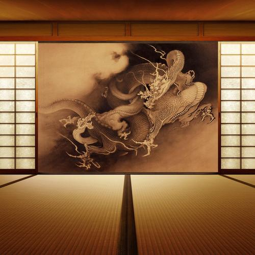 Japanese room decoration wallpaper