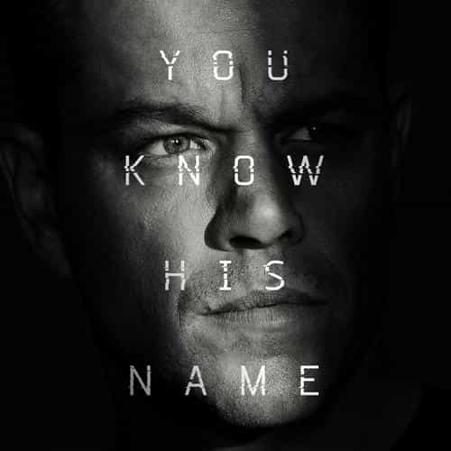 jason bourne film poster art illustration