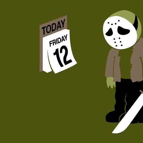Jason sadness in 12 Friday wallpaper