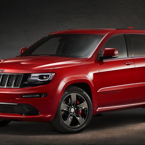 Jeep Grand Cherokee SRT Red Vapor 2014 papel de parede