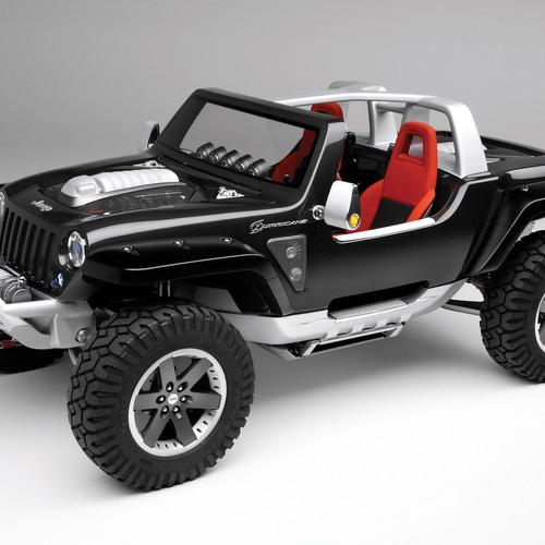 Jeep Hurricane Concept car tapeta