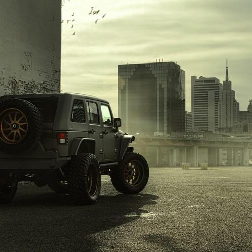 Jeep Wangler NightHawk SUV wallpaper