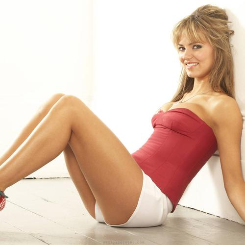Kara Tointon on high heels