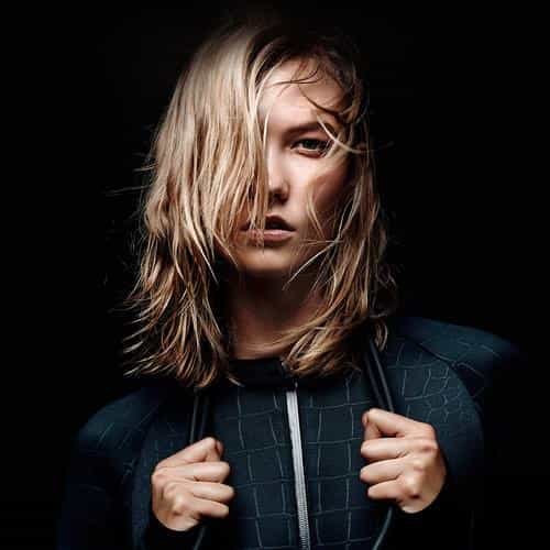 karlie kloss dark nike model