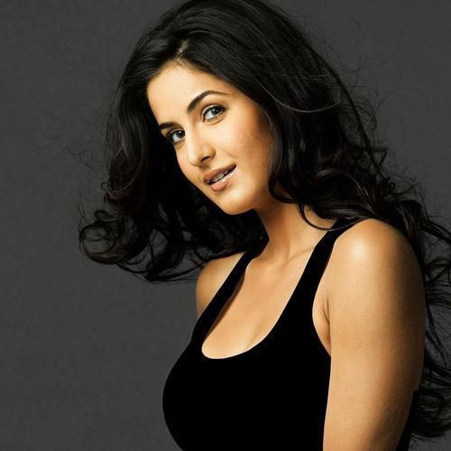 Katrina Kaif in black tank top