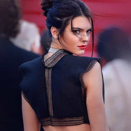 kendall jenner red celebrity