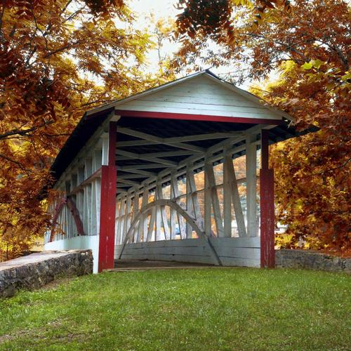 Knisely Covered Bridge, Bedford County, Pennsylvania wallpaper
