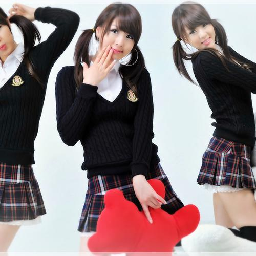 Korean school girls uniform