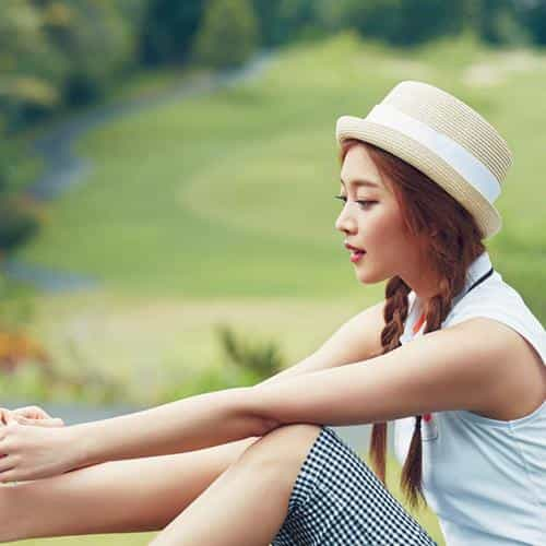 kpop golf model girl jo boa