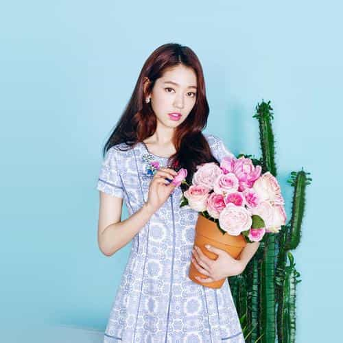 kpop park shinhye flower photoshoot girl