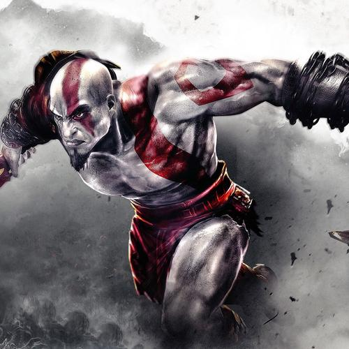 Kratos in God Of War 4 game wallpaper