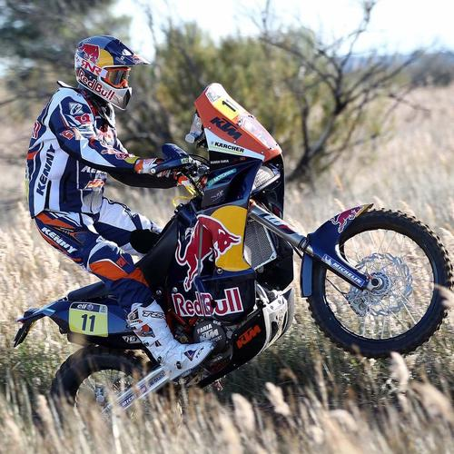 Ktm Sand Rally Motorcycle Racer behang