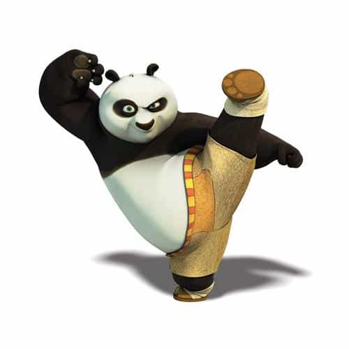 kungfu panda dreamworks animal kick cute anime