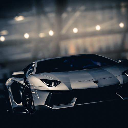 Lamborghini Aventador black wallpaper