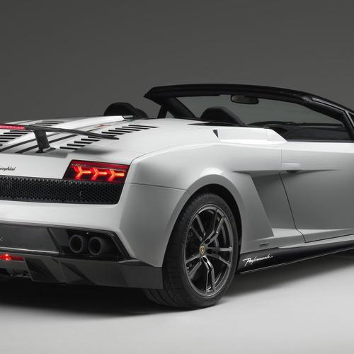兰博基尼Gallardo LP570-4 Spyder的Performante(2011) 壁纸